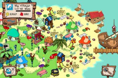 Smurf 3 Smurfs Village   Le jeu de gestion le plus addictif de lApp Store (gratuit)