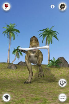 Talking rex dinosaur Les bons plans de lApp Store ce samedi 1 octobre 2011