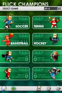 Test FlickChampions 11 200x300 [Test] Flick Champions, 8 mini jeux sport dans votre iPhone (0,79€)