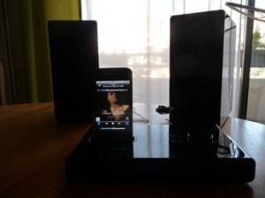 Test MicroEltax 10 300x224 [Test] Eltax Micro, deux haut parleurs pour vos iDevices (169€)