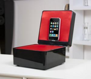 Test Pearlbox 14 300x262 [Test] Tangent Pearlbox, une boîte à musique pour votre iPhone/iPod (~ 99€)
