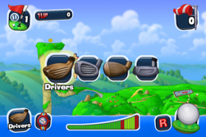 Test WormsCrazyGolf 03 300x200 [Test] Worms Crazy Golf débarque sur votre iPhone (2,39€)