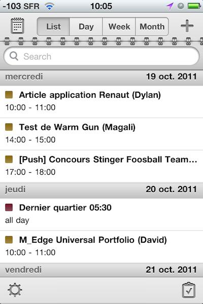 TestCalendarsReaddle016 Test de Calendars   Un calendrier amélioré pour iPhone et iPad (5,49€)