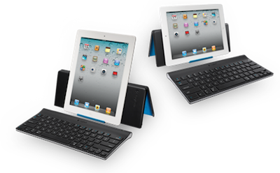 TestClavierLogitech027 Test de la Tablet Keyboard for iPad de Logitech   Un clavier/support pour taper plus rapidement sur iPad ! (59,99€)