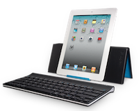 TestClavierLogitech028 Test de la Tablet Keyboard for iPad de Logitech   Un clavier/support pour taper plus rapidement sur iPad ! (59,99€)