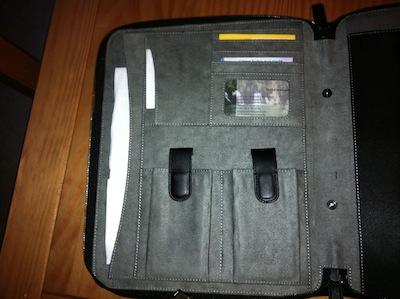TestMEedgeUMportfolio 006 Test de M Edge Universal Modulor Method Portfolio   Une pochette multi fonctions pour iPad (71€)
