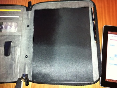 TestMEedgeUMportfolio 007 Test de M Edge Universal Modulor Method Portfolio   Une pochette multi fonctions pour iPad (71€)