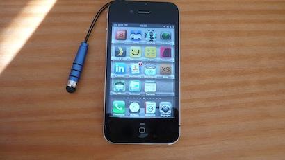 TestMiniStylus005 Test du mini Capacitive Stylus   Un stylet de poche à bas prix pour iPhone et iPad (9€)