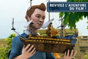 Tintin2 300x200 Les Aventures de Tintin : Le Secret de la Licorne (5,49€) disponible !