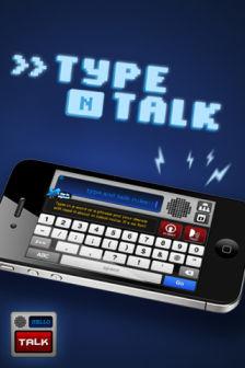 Type and talk Les bons plans de lApp Store ce lundi 24 octobre 2011