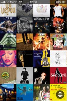 Wall of sound 1 Wall Of Sound   Redécouvrez votre bibliothèque musicale sur iPhone (Gratuit)