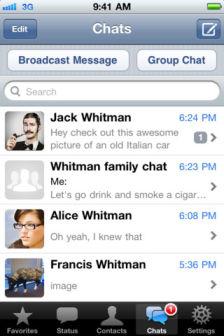 WhatsApp messenger Les bons plans de lApp Store ce mercredi 25 juillet 2012