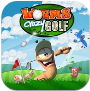 Worms crazy golf Worms Crazy Golf disponible sur iPhone et iPad