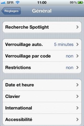 astuce raccourcis 1 333x500 Astuce : Comment paramétrer des raccourcis clavier dans iOS5 !