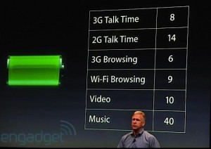 autonomie iphone4s 300x212 LiPhone 4S consomme 2x plus que liPhone 4