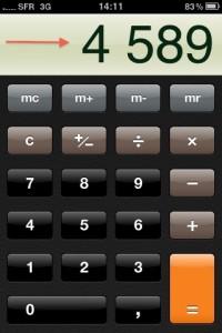 calculatrice iphone 200x300 Astuce : Les fontionnalités cachées de la Calculatrice de liPhone !