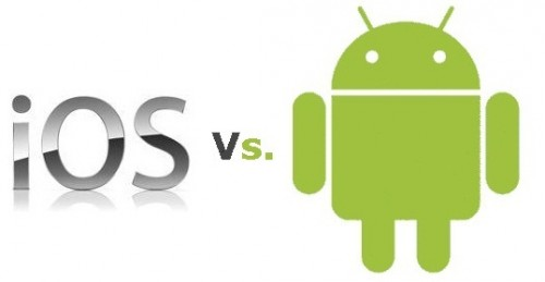iOS vs android 500x259 Verdict : Apple Gagne son procès contre Samsung !