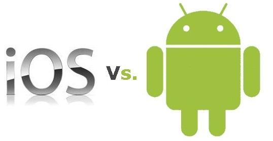 iOS vs android Les smartphones ont la cote à Noël !