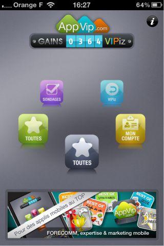 image 2 Appvip HD (gratuit)   Devenir testeur rémunéré dapplications iPhone
