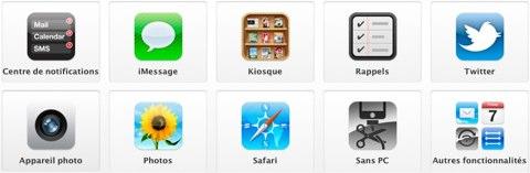 news iOS5 [MÀJ] La mise à jour iOS5 disponible pour iPhone, iPad, et iPod Touch