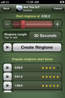 ringtone 2 Les bons plans de lApp Store ce mardi 11 octobre 2011