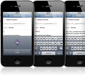 siri dictation 300x274 Tout savoir sur lassistant vocal Siri : la nouveauté de liPhone 4S !