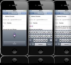 siri dictation e1320684597246 Siri, bientôt porté sur dautres iDevices?