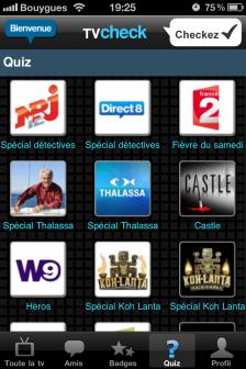 test TV Check quizz