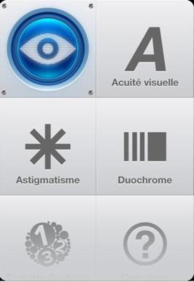 1 Testez votre vue : Une application gratuite qui mérite que lon y jette un oeil !