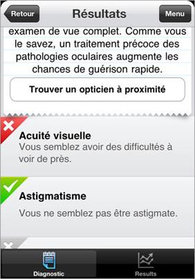 4 Testez votre vue : Une application gratuite qui mérite que lon y jette un oeil !