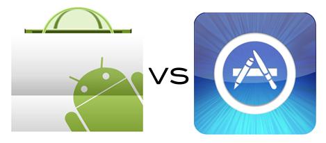 Android market App Store Les smartphones ont la cote à Noël !