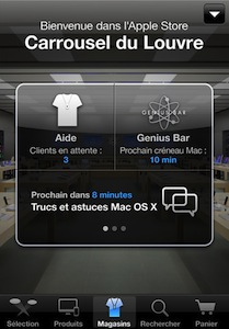 App Store application2 Lapplication Apple Store passe en V2 !