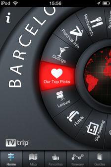 Barcelona guide TV Trip Les bons plans de lApp Store ce dimanche 13 novembre 2011