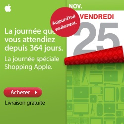 Black friday Black Friday : Une vague de promotions sur lApple Store