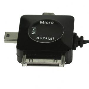 Brainwizz 1 Découvrez le Câble de recharge universel pour liPhone et les autres appareils (14,95€)