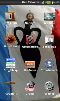 Capture d'écran 2011 11 01 à 14.24.47 Test de Groland : Pour tous les fans de l'émission de Canal + (gratuite)