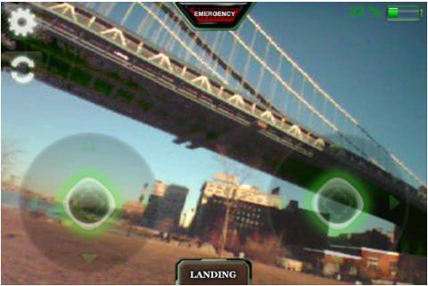 Capture d'écran 2011 11 18 à 18.00.20 App4Phone Teste lAr Drone   Le drone de Parrot controlé par iDevice (299€)