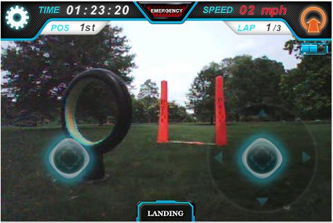 Capture d'écran 2011 11 18 à 18.03.24 App4Phone Teste lAr Drone   Le drone de Parrot controlé par iDevice (299€)