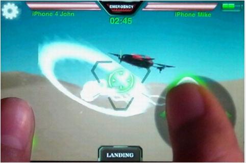 Capture d'écran 2011 11 18 à 18.03.48 App4Phone Teste lAr Drone   Le drone de Parrot controlé par iDevice (299€)