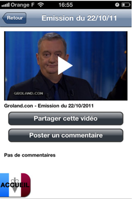 Capture2 Test de Groland : Pour tous les fans de l'émission de Canal + (gratuite)