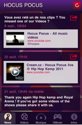 Capture22 Test de Hocus Pocus : toute lactualité du groupe et un jeu de remix inclus (gratuit)