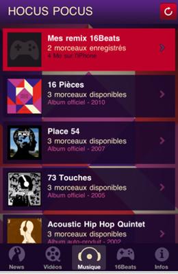 Capture31 Test de Hocus Pocus : toute lactualité du groupe et un jeu de remix inclus (gratuit)