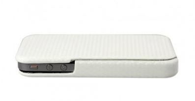 CaseCrow blanc Concours : une Coque CaseCrown Flip Carbon pour iPhone 4/4S à gagner (12€)