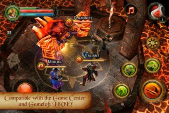 Dungeon hunter Les plus beaux jeux de lAppStore en promotion à 0,79€