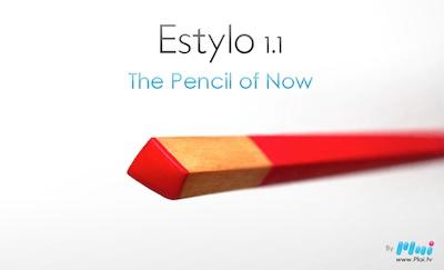 Estylo001 Estylo 1.1 : Un nouveau genre de stylet magnétique pour écrans tactiles