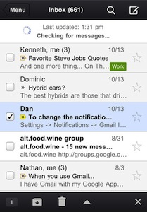 Gmail App1 [MÀJ] Application GMail (disponible) sur lAppStore (gratuit)