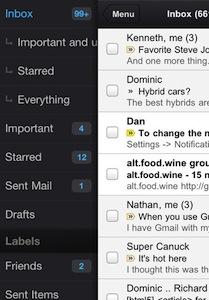 Gmail App2 [MÀJ] Application GMail (disponible) sur lAppStore (gratuit)