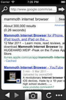 Mammoth web browser Les bons plans de lApp Store ce jeudi 10 novembre (400e édition !)