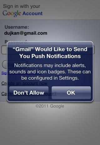 Native Gmail Gmail sur lApp Store, le Come Back !