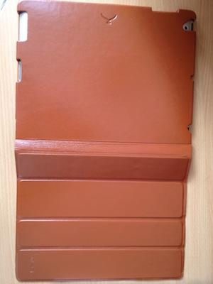 Photo 26 11 11 12 42 30 Kolossa   Une coque SmartCover de luxe en cuir véritable pour iPad 2 (98€)
